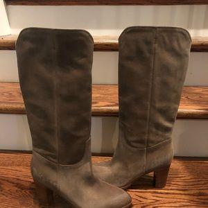 Frye women's beige tall boots sz 8.5 medium new